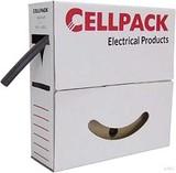 Cellpack Schrumpfschlauch in Abrollbox 8m SB 12.7-6.4 sw