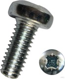 Dresselhaus Gewindefurchende Schraube Form C-Z, galv.verz. 6606/001/01 4x8 (1000 Stück)