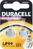 Duracell Alkaline-Batterie 1,5V LR44 (Bli.2) (10 Stück)