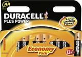 Duracell Alkaline-Batterie 1,5V (MN1500/LR6) PlusPower-AA (VE12)