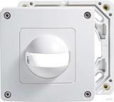 ESYLUX Abdeckung ws IP44 f.MD180i und PD180i EM100 55 157