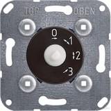Elso 3-Stufenschalter-Einsatz 10A 1-pol. m.Nullst. 121910