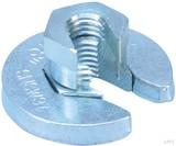 Erico SNSW Flanschmutter M10 Stabgröße,42,4mm SNSWM10 (20 Stück)