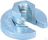 Erico SNSW Flanschmutter M8 Stabgröße,42,4mm SNSWM8 (20 Stück)