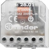 Finder Stromstoßschalter UP 1S 10A 230VAC 26.01.8.230.0000