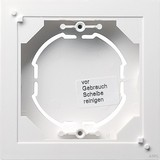 Gira AP-Rahmen 1f.rws-gl flach 021903