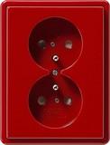Gira Doppelsteckdose CEBEC rt S-Color 079543