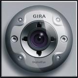 Gira Farbkamera alu,UP,f.Türstation 126565