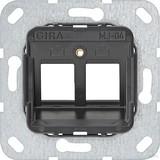 Gira Modular Jack 4 2fach UP Tragring 560400
