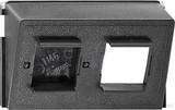 Gira Modulareinsatz AT+T 2-fach 005800