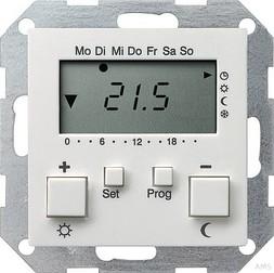 Gira RT-Regler 230 V mit Uhr rws 237003