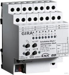 Gira Schalt-/Jalousieaktor REG KNX/EIB 16A 103700