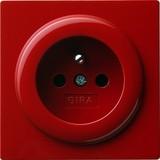 Gira Steckdose m.Erdstift rt S-Color 048443