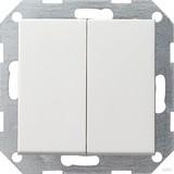 Gira Tast-Serienschalter rws-gl 012503