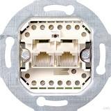 Gira UAE/TAE-Steckdosen-Einsatz 8 8 2-fach 019000