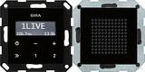 Gira Unterputz-Radio RDS schwarzglasoptik 228005