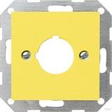 Gira Zentraleinsatz ge-gl Aufnahme 22,5mm 027102