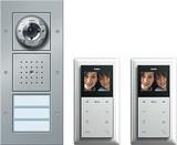 Gira Zweifam.haus-Paket Video alu 049546