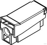 HKL Leuchtenanschlussklemme 1polig,grau 2026.08 (100 Stück)