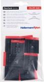 HellermannTyton Klebesockel flexibel schwarz (10 Stück) FMB4APT-I PA66HS(10) (10 Stück)
