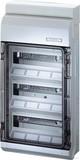 Hensel Automatengehäuse 36TE 3x12x18mm IP54 KV 3536