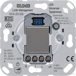 Jung 1224LEDUDE LED-Universal-Tastdimmer