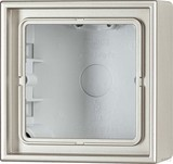 Jung AP-Kappe 1-fach angeformter Rahmen AL 2581 A-L