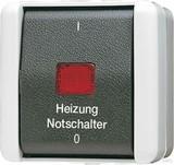 Jung Heizung-Notschalter Aus 3-pol. 803 HW