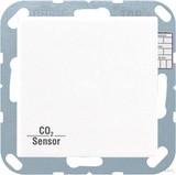 Jung KNX CO2-Sensor, RT-Regler Luftfeuchtesensor ws CO2 A 2178