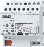 Jung KNX Universal-Dimmaktor 2fach 3902 REG HE