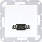 Jung Multimedia-Anschluss aws VGA m.Tragring MA A 1102 WW