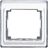 Jung Rahmen 1-fach si senkrecht SL 581 SI
