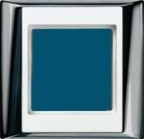 Jung Rahmen 2-fach gl.chr.aws waage/senkrecht AP 582 GCR WW