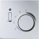 Jung Raumtemperaturregler alu 1-pol.Öffner AC230V TR AL 231