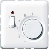 Jung Raumtemperaturregler aws 1-pol.Öffner AC24V TR CD 241 WW