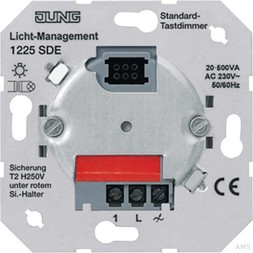 Jung Standard-Tastdimmer AC230V 50/60Hz 1225 SDE