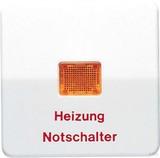 Jung Wippe Aufs.Heizung/Notsch. mit Lichtfenster CD 590 BFH WW