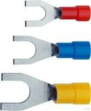 Klauke Quetschkabelschuh 4-6qmm isoliert 650C/10 (100 Stück)