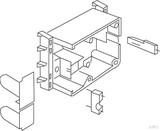 Kleinhuis CEE-Geräteeinbaudose CED80
