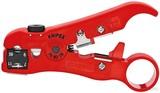 Knipex-Werk Abisolierwerkzeug für Koax 125mm 16 60 06 SB