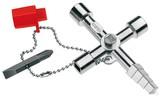 Knipex-Werk Profi-Key für Absperrsys. 90mm 00 11 04