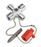Knipex-Werk Schaltschrank-Schlüssel 44mm 00 11 02