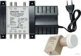 Kreiling UNICABLE Verstärker/Vert. 2SAT/24T incl.1LNB KR 3-24 UNI-PVV