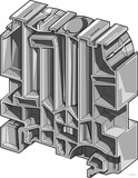 Krüger-Werke Endklammer 12mm, grau BADH (50 Stück)