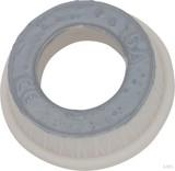 Mersen D-Ring-Paßeinsatz D II, 16A grau 01652.016000