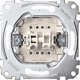 Merten Doppeltaster-Einsatz 2S 1-pol.10A 250V AC MEG3155-0000