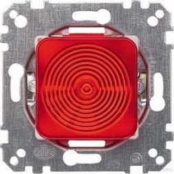 Merten Lichtsignal-Einsatz Haube rot E10 319016