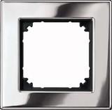 Merten Metallrahmen 1f.chrom 475139