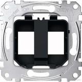 Merten Tragplatte sw/ge für Steckverbinder MEG4566-0003