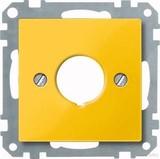 Merten Zentralplatte ge für Not-Ausschalter 393803